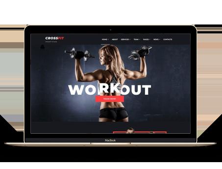 健身房网站